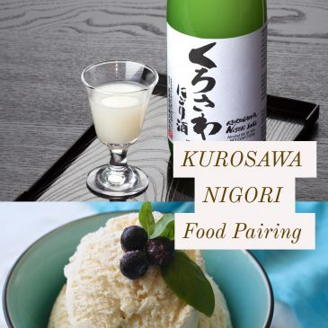 Food Pairing: Kurosawa Nigori