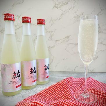 """It's totally natural sake – Sparkling Sake """"NATURAL"""" Junmai Ginjo by NINKI-ICHI"""
